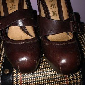 Lamb Gwen Stefani leather stilletos